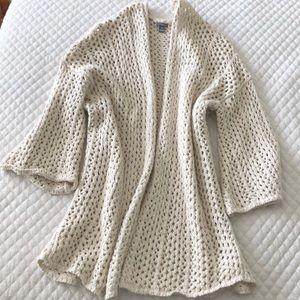 Open Knit Aerie sweater